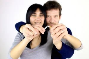 Couple Quit Smoking